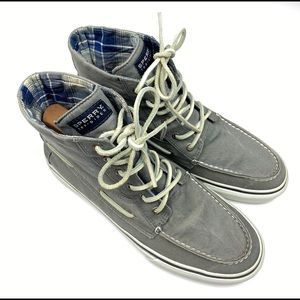 Sperry Topsider Men High Top Shoes Mens US Size 10